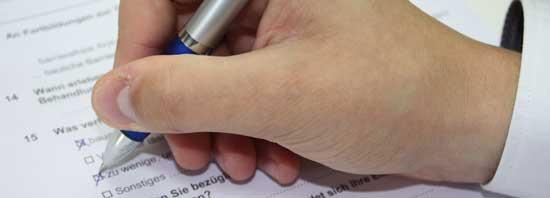 Alleinerziehende, Studie, Paper-Pencil